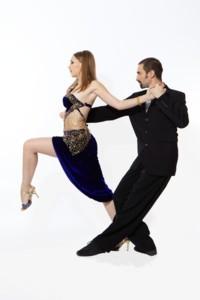 Tango fashion, Wide cut Tango trousers made out of soft falling good cloth will pronounce the clear elegant line of the Tango dancer´s legs  Image: Filippo Avignonesi and Yulia Yukhina