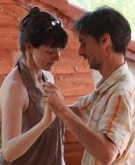 Tango workshop with Shiobhan Richards and Michael Lavocah at Villa La Rogaia