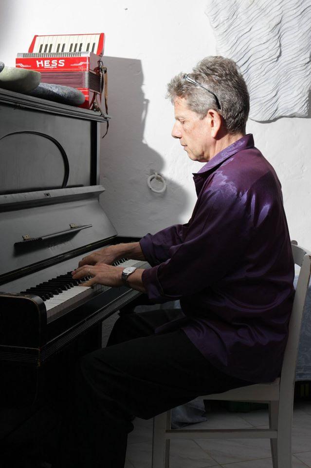 Steve Morrall at Villa La Rogaia
