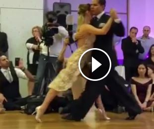 Take a tango lesson from Sebastián Arce and Mariana Montes
